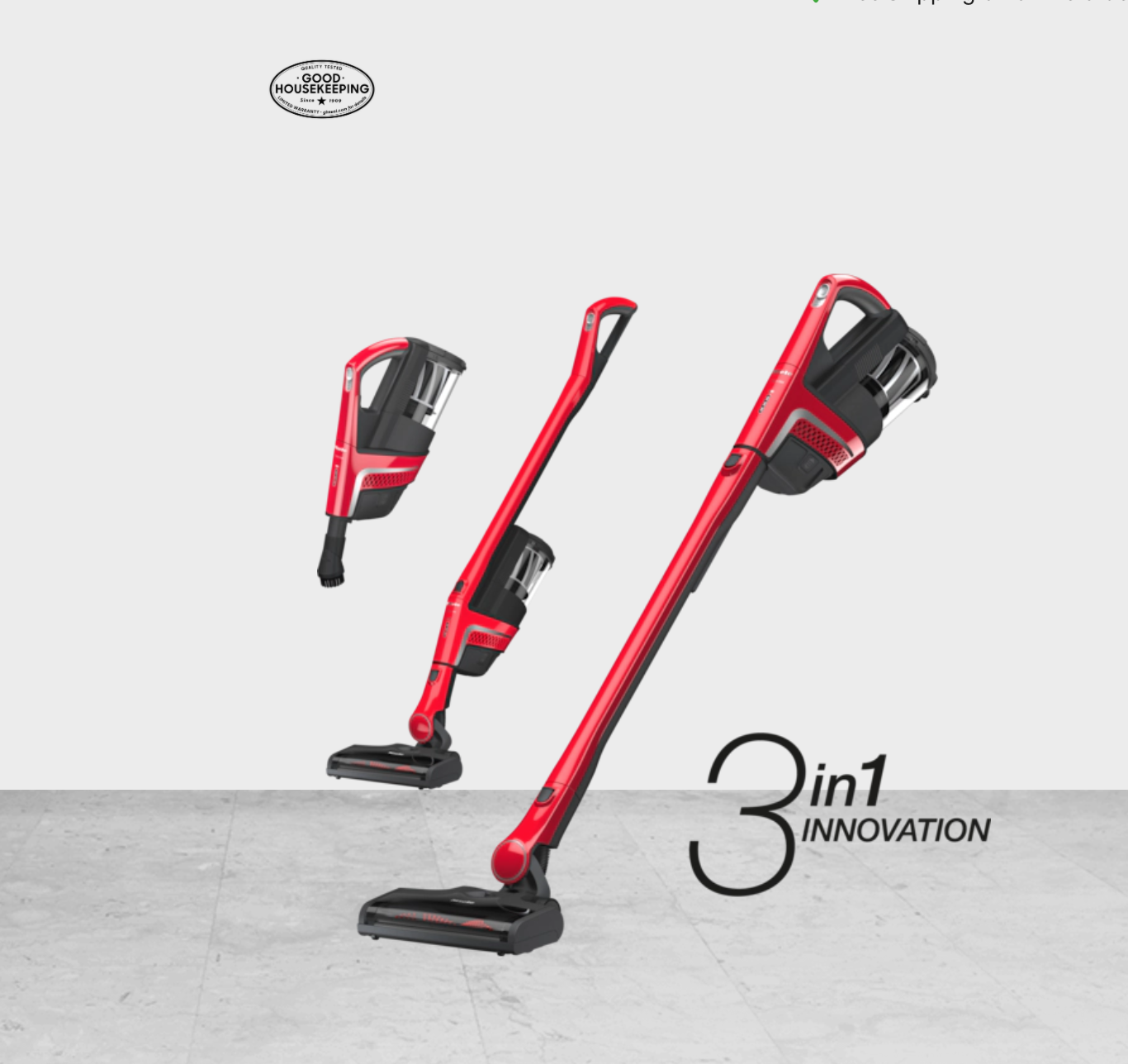 TriFlex by Miele 3 in one broom